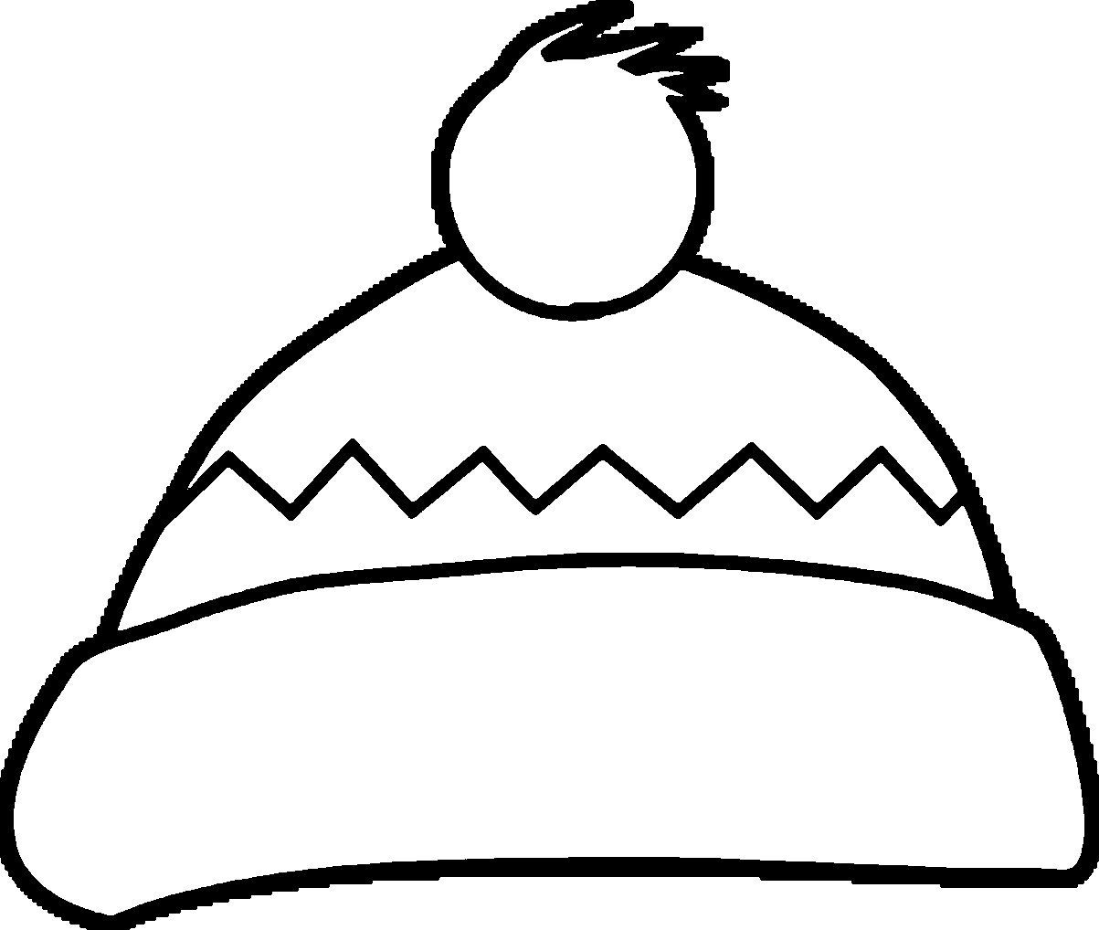 winter hat coloring page winter hat coloring pages at getcoloringscom free page winter hat coloring