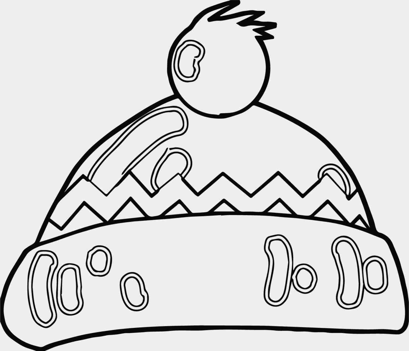 winter hat coloring page winter hat coloring pages at getcoloringscom free winter coloring hat page