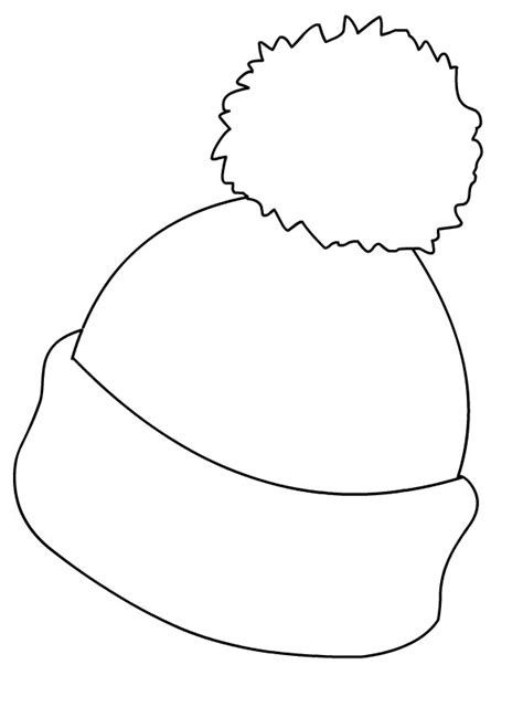winter hat coloring page winter hat picture coloring page in awesome and also winter coloring hat page