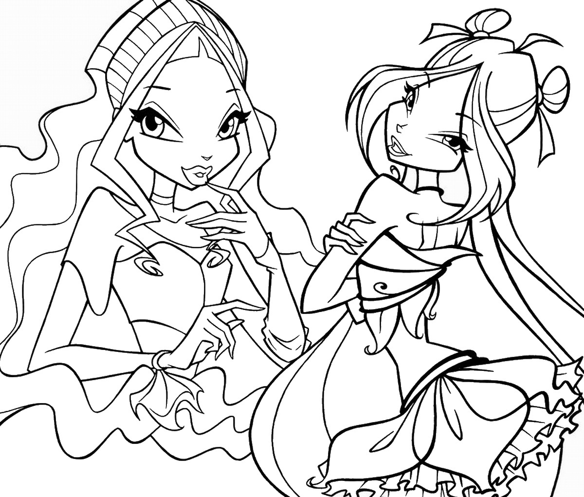 winx coloring pages online free printable winx coloring pages for kids cool2bkids online winx pages coloring