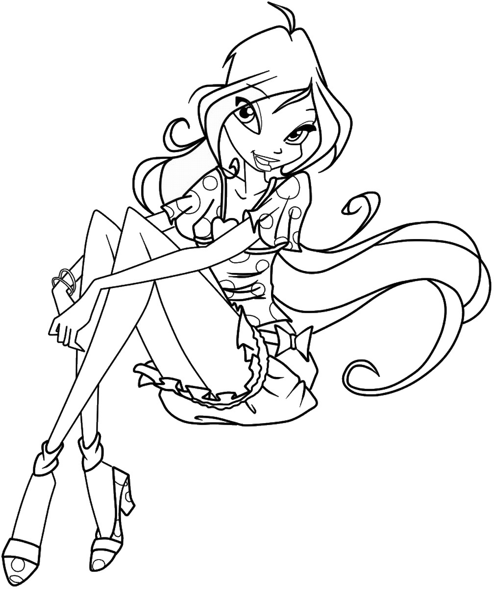 winx coloring pages online get this winx club coloring pages online printable nhywg coloring winx pages online