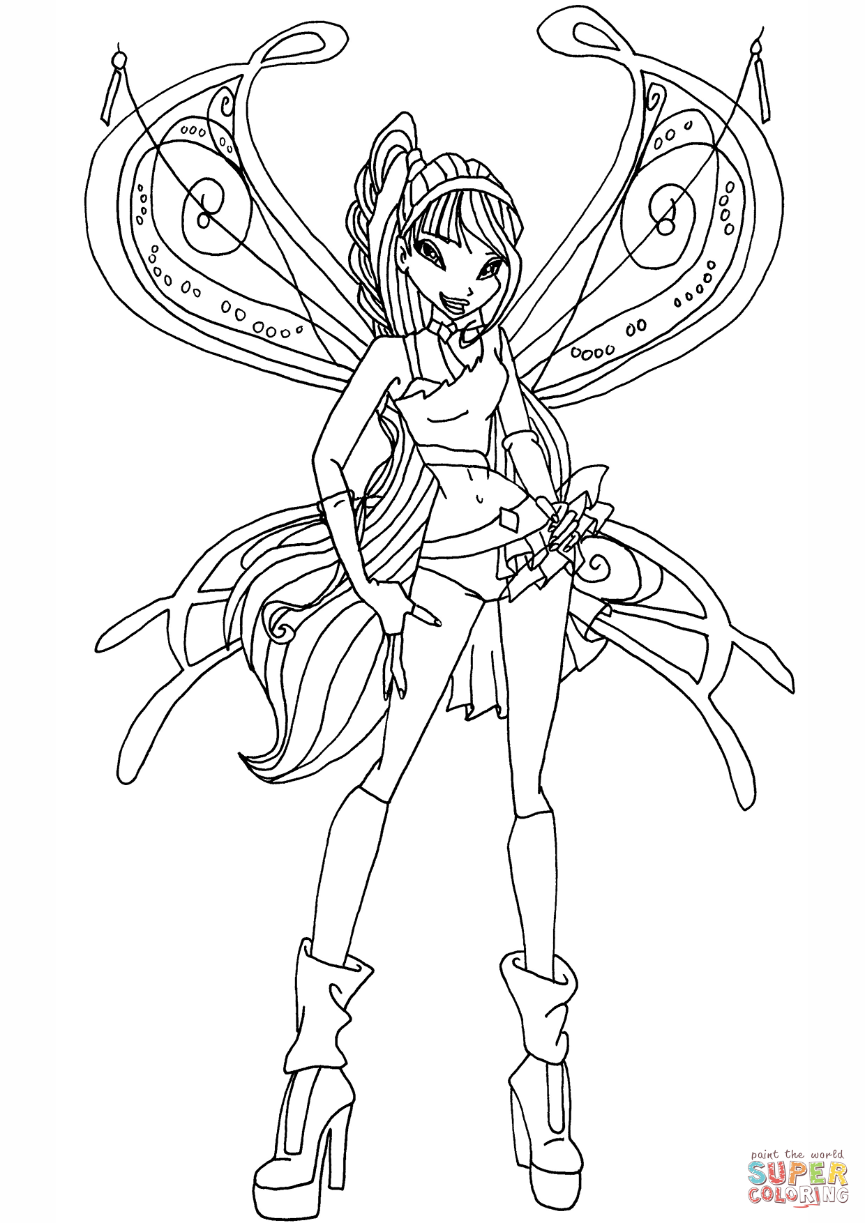 winx coloring pages online winx club coloring pages online pages winx coloring