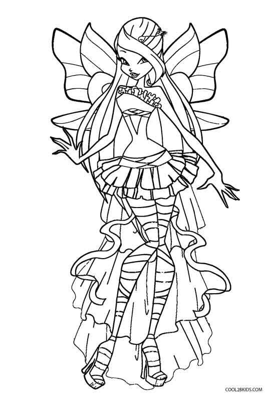 winx coloring pages online winx club pirate fairy coloring page free printable pages online coloring winx