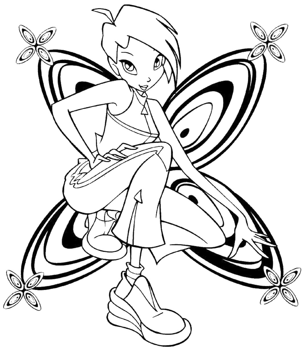winx coloring pages online winx club roxy coloring page free printable coloring pages online coloring winx pages