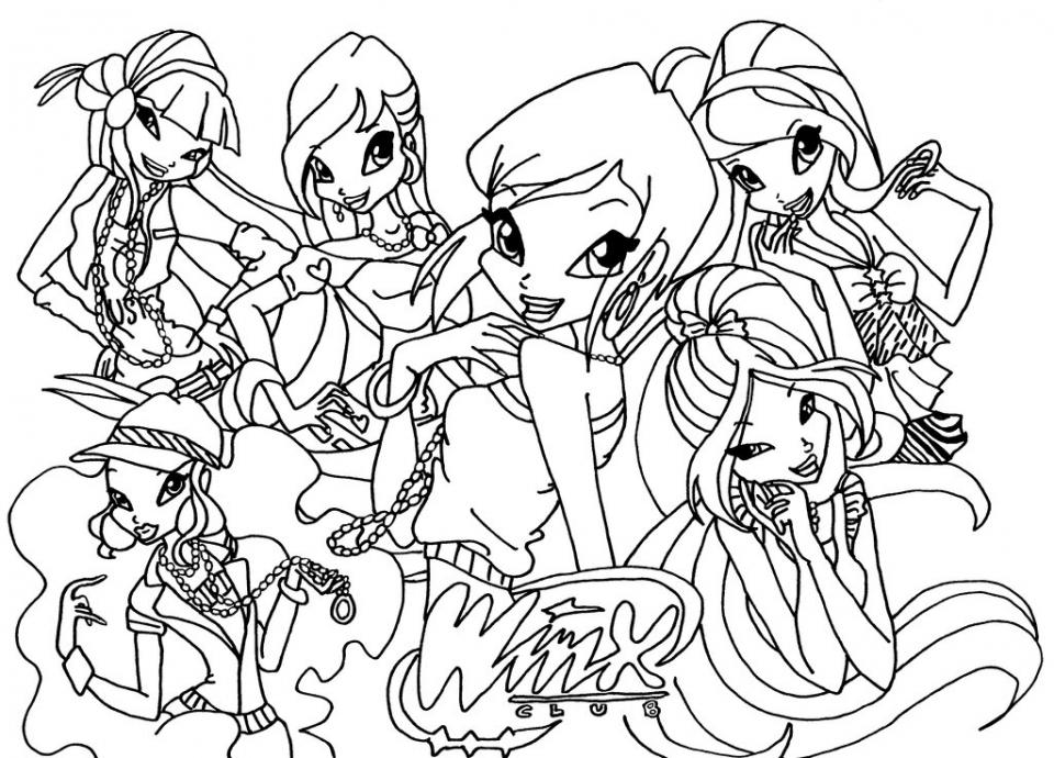 winx coloring pages online winx club stella coloring page free printable coloring pages coloring pages online winx