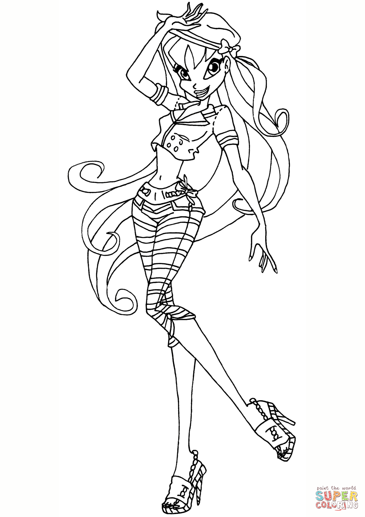 winx coloring pages online winx club tecna coloring page free printable coloring pages online coloring winx pages