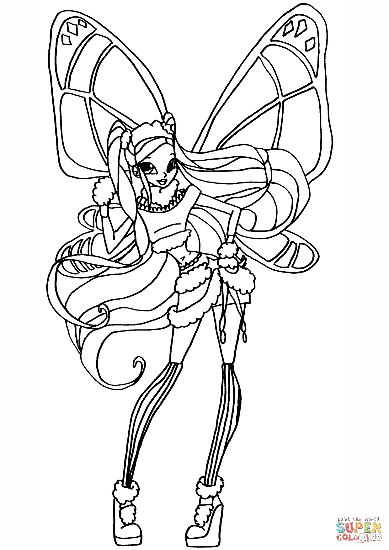 winx coloring pages online winx coloring pages tegninger online pages coloring winx