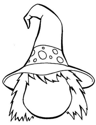 witch face coloring pages halloween witch face printable coloring pages face witch pages coloring