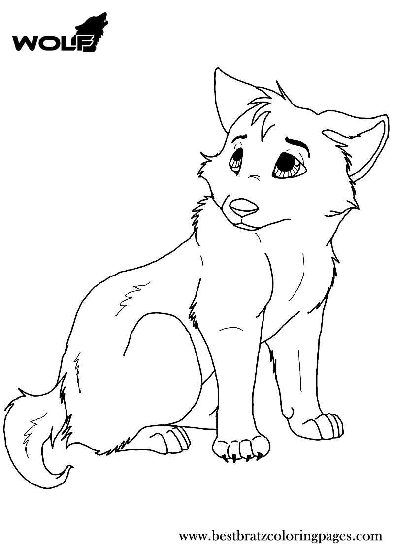 wolf coloring images fox and wolf coloring pages at getcoloringscom free wolf images coloring
