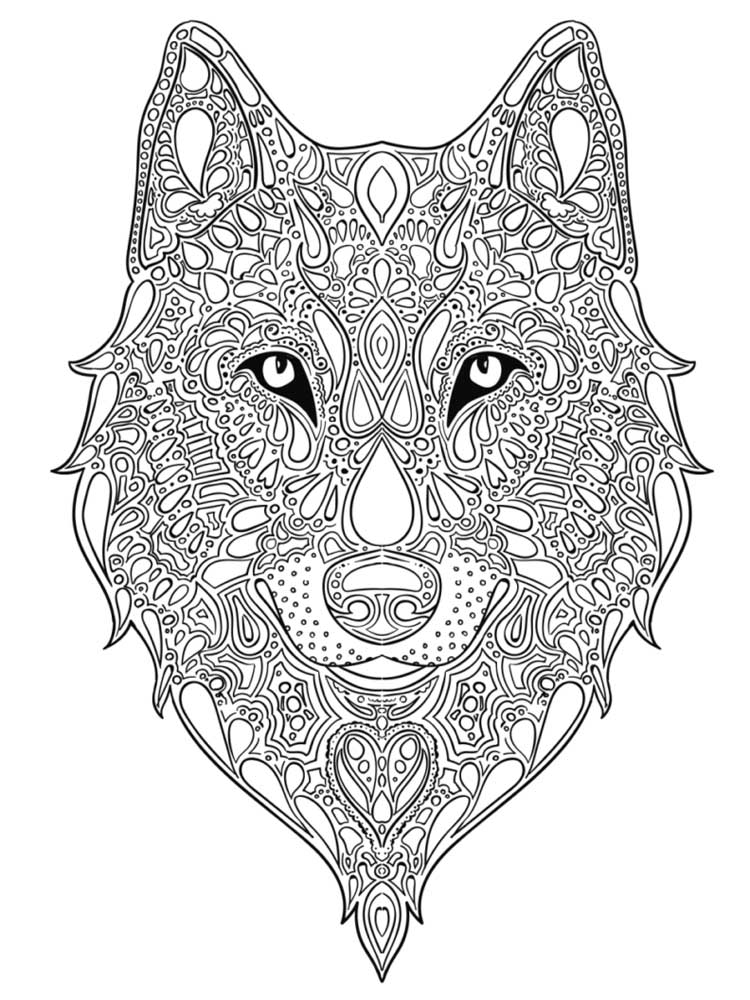 wolf for coloring free printable wolf coloring pages for kids coloring for wolf