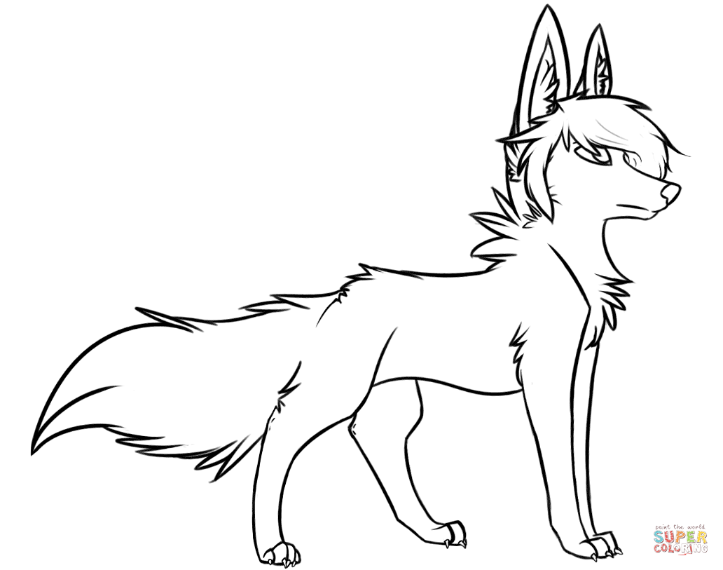 wolf for coloring wolf coloring pages realistic at getcoloringscom free coloring wolf for