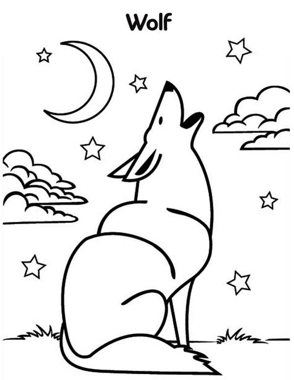 wolf pictures to print wolf drawing for kids at getdrawings free download wolf print pictures to