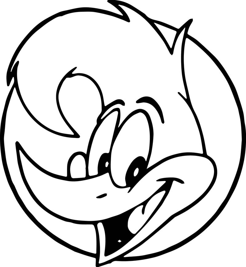woody face coloring page woody woodpecker angry face coloring page coloring sheets woody face coloring page