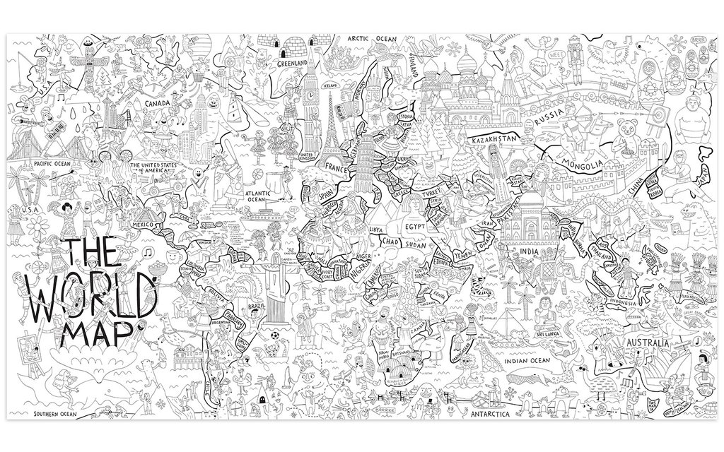 world map coloring poster what a colorful world folded coloring poster pirasta nyc map world coloring poster