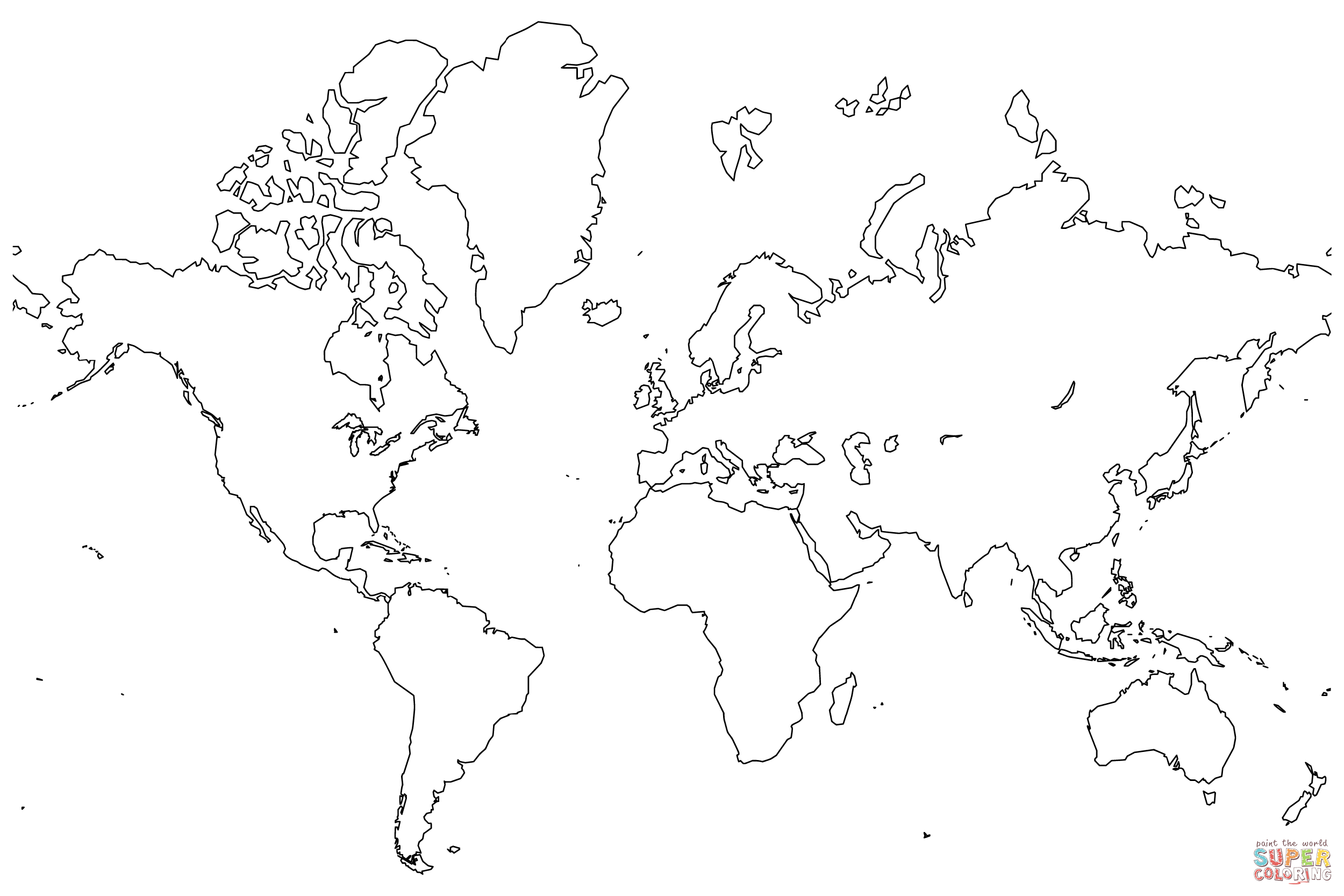 world map coloring poster world map political sketch valid drawing save color in poster map world coloring