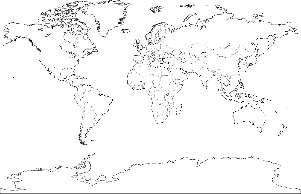 world map coloring sheet map of the world for kids to color coloring home coloring world sheet map
