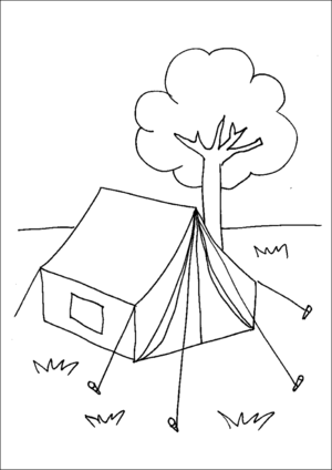 www free printable coloring pages camping tent tent camping tent coloring pages free printable www coloring pages