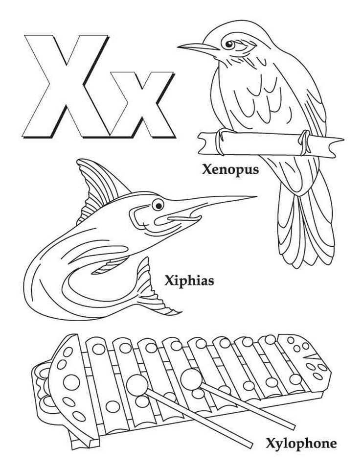 x coloring page get this letter x coloring pages xy3ma page coloring x