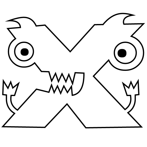 x coloring page letter x coloring page x page coloring