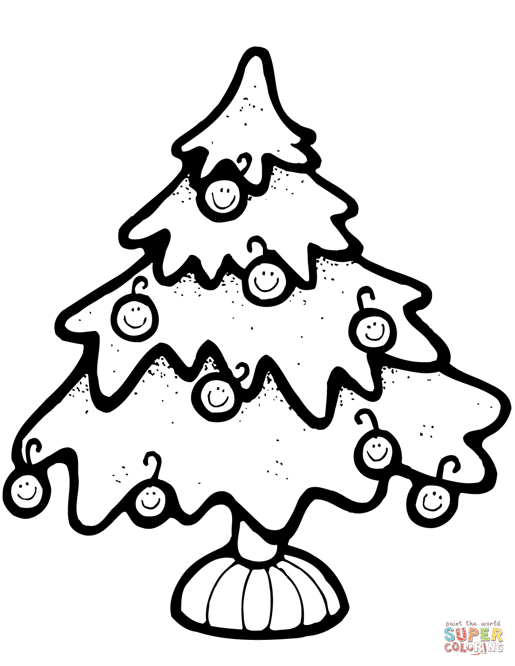 xmas tree coloring pages best christmas tree outline 7029 clipartioncom coloring tree pages xmas