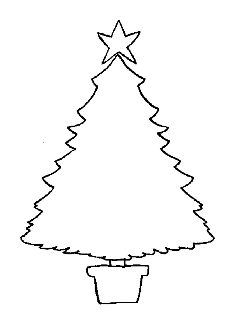 xmas tree coloring pages christmas tree coloring pages for childrens printable for free xmas tree coloring pages