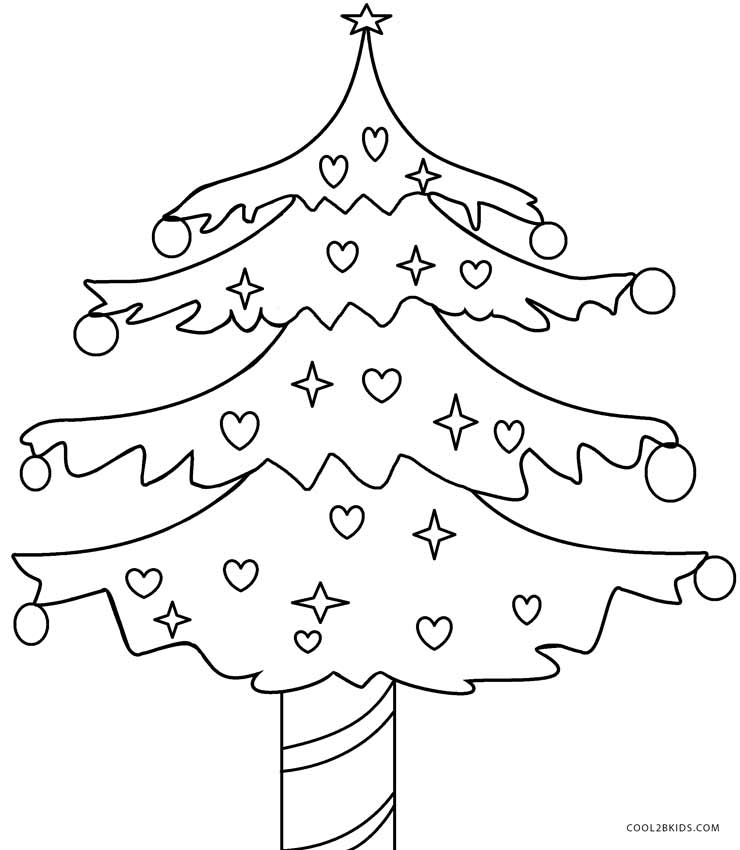 xmas tree coloring pages printable christmas tree coloring pages for kids cool2bkids xmas coloring pages tree