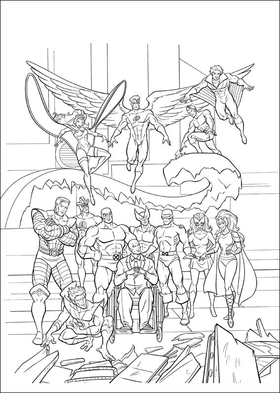 xmen coloring pages wolverine and the x men coloring pages coloring xmen pages