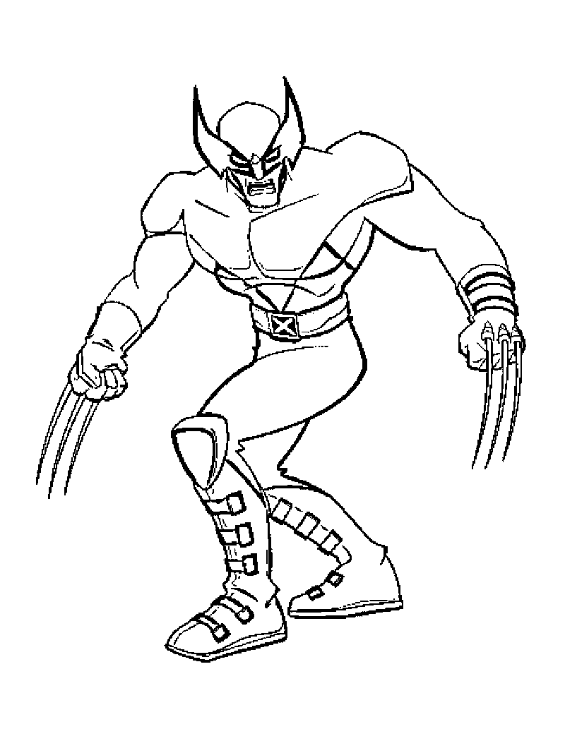 xmen coloring pages wolverine and the x men coloring pages xmen pages coloring