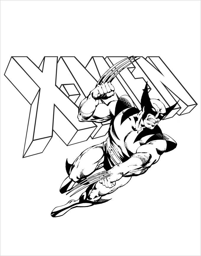 xmen coloring pages x men coloring pages to download and print for free coloring pages xmen