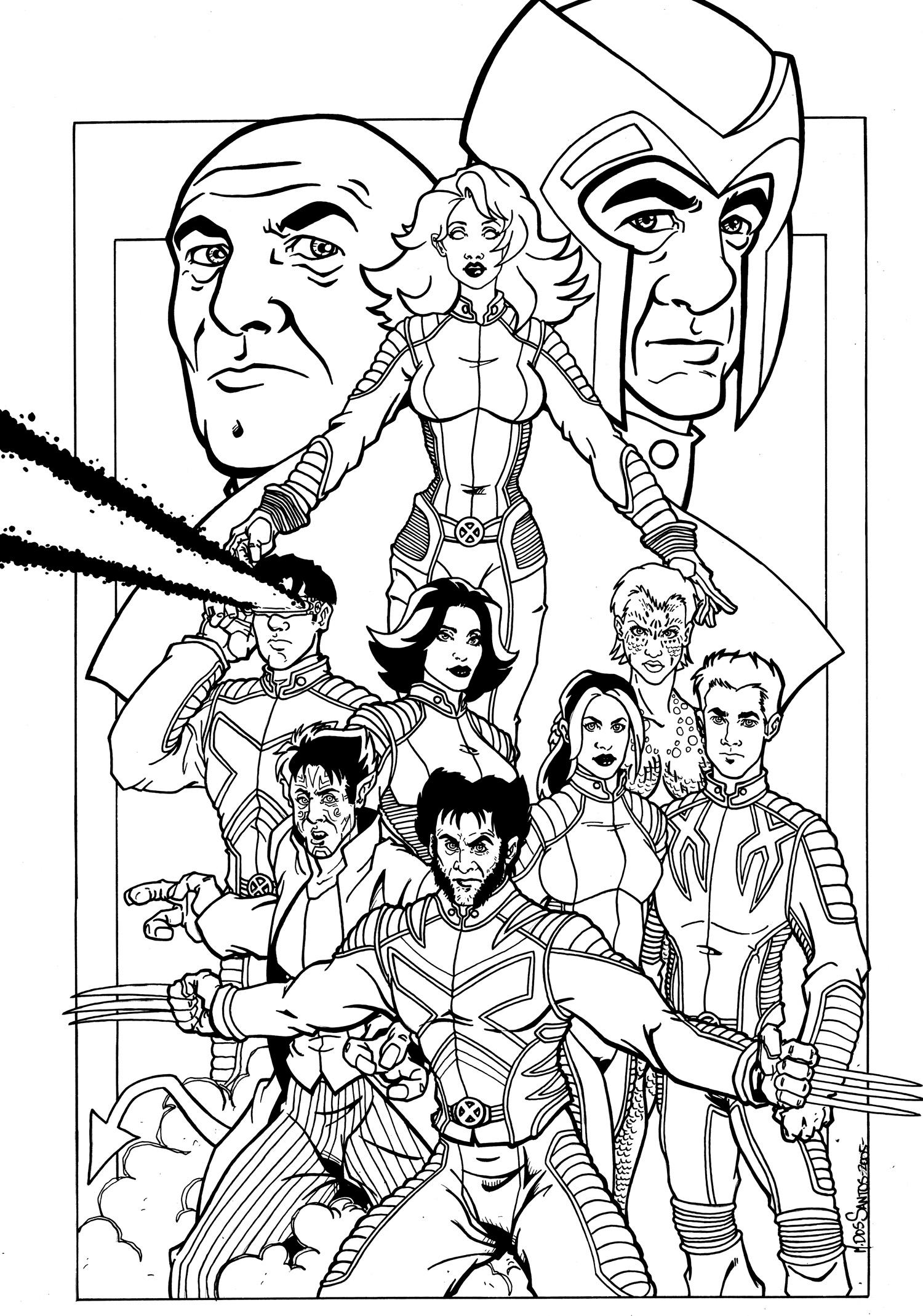 xmen coloring pages x men coloring pages to download and print for free pages xmen coloring 1 1