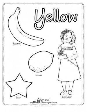 yellow coloring worksheets color yellow journal preschool color activities coloring yellow worksheets
