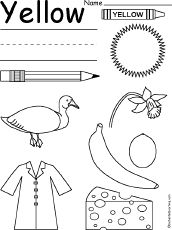 yellow coloring worksheets coloring pages yellow abcteach worksheets yellow coloring