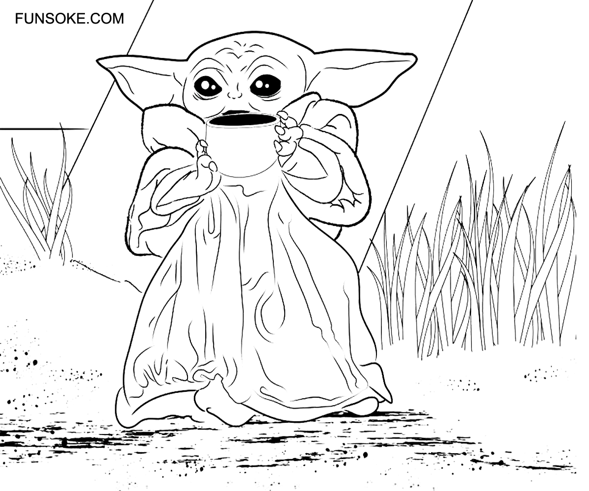 yoda colouring pages baby yoda coloring pages 44 new images free printable yoda colouring pages