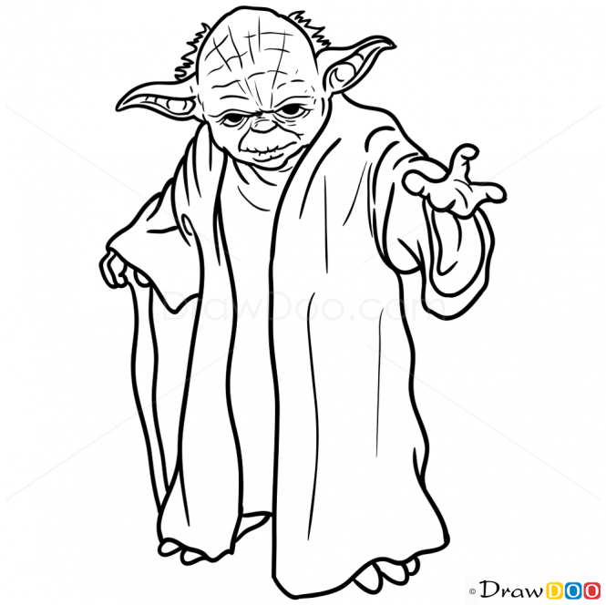 yoda outline baby yoda by doodlecraft template download yoda outline