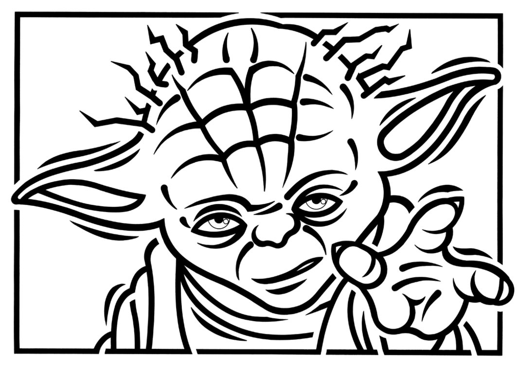 yoda outline baby yoda colouring sheet in 2020 star wars drawings outline yoda