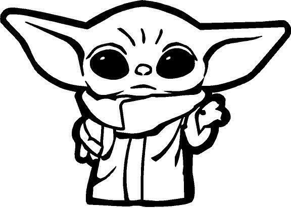 yoda outline drawing yoda black and white clipart 2371967 pinclipart outline yoda