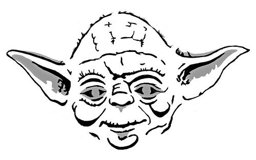 yoda outline master yoda drawing at getdrawings free download outline yoda