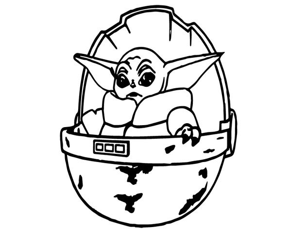 yoda outline simple yoda drawing at getdrawings free download yoda outline