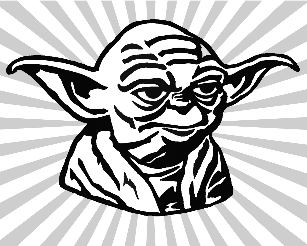 yoda outline star wars clipart free free download on clipartmag yoda outline