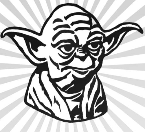 yoda outline star wars yoda coloring pages download and print for free yoda outline