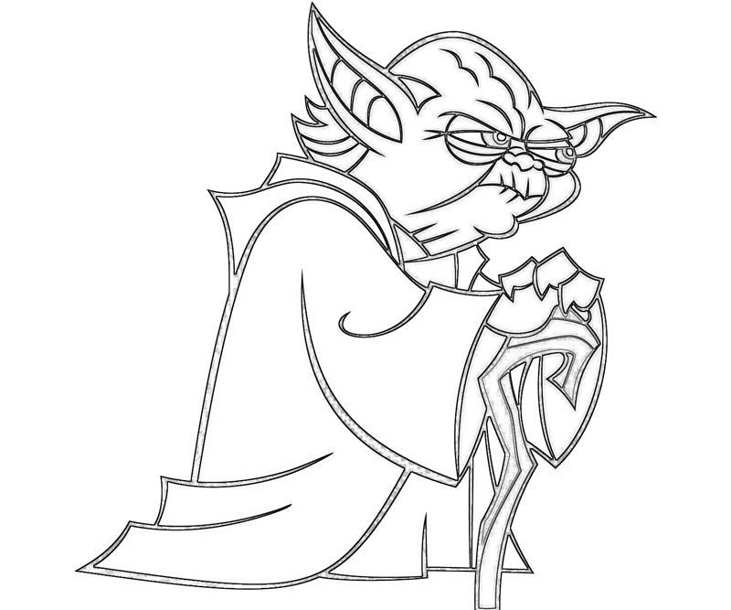 yoda outline yoda line drawing at getdrawings free download yoda outline