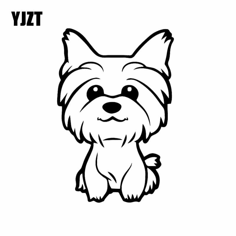 yorkie puppy coloring pages 1679 1579hooray free shipping yjzt 108x16cm yorkie pages puppy yorkie coloring