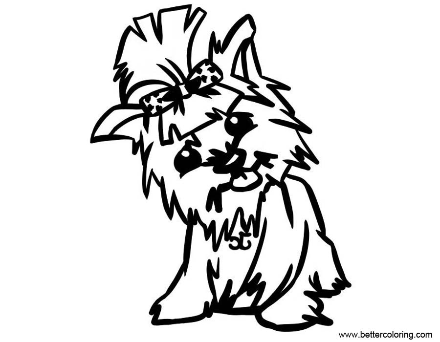 yorkie puppy coloring pages baby yorkie coloring pages free printable coloring pages yorkie coloring puppy pages