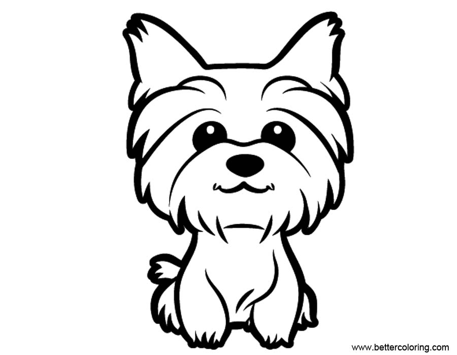 yorkie puppy coloring pages yorkie coloring pages best coloring pages for kids puppy pages coloring yorkie
