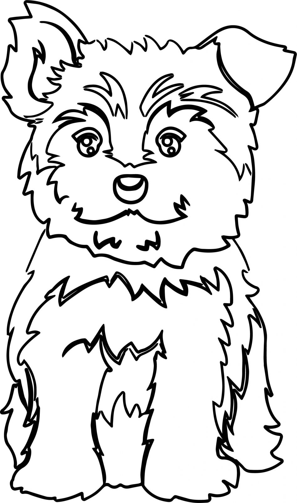 yorkie puppy coloring pages yorkie line drawing at getdrawings free download pages puppy coloring yorkie