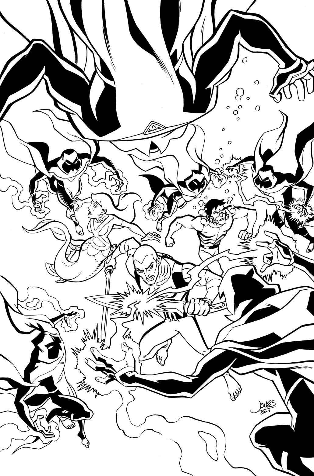 young justice colouring pages free young justice coloring pages download and print justice young pages colouring