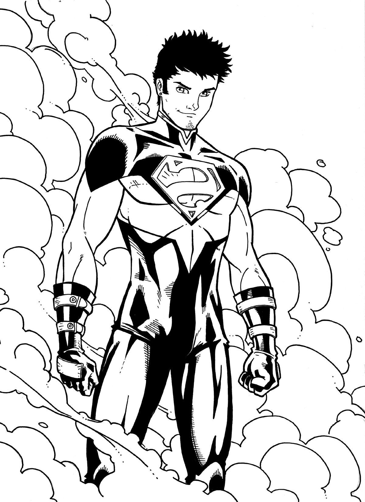 young justice colouring pages pin by susie petri on lineart young justice clip art pages colouring justice young