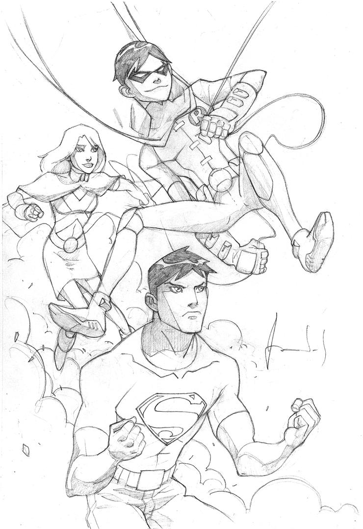 young justice colouring pages young justice free coloring pages pages colouring young justice