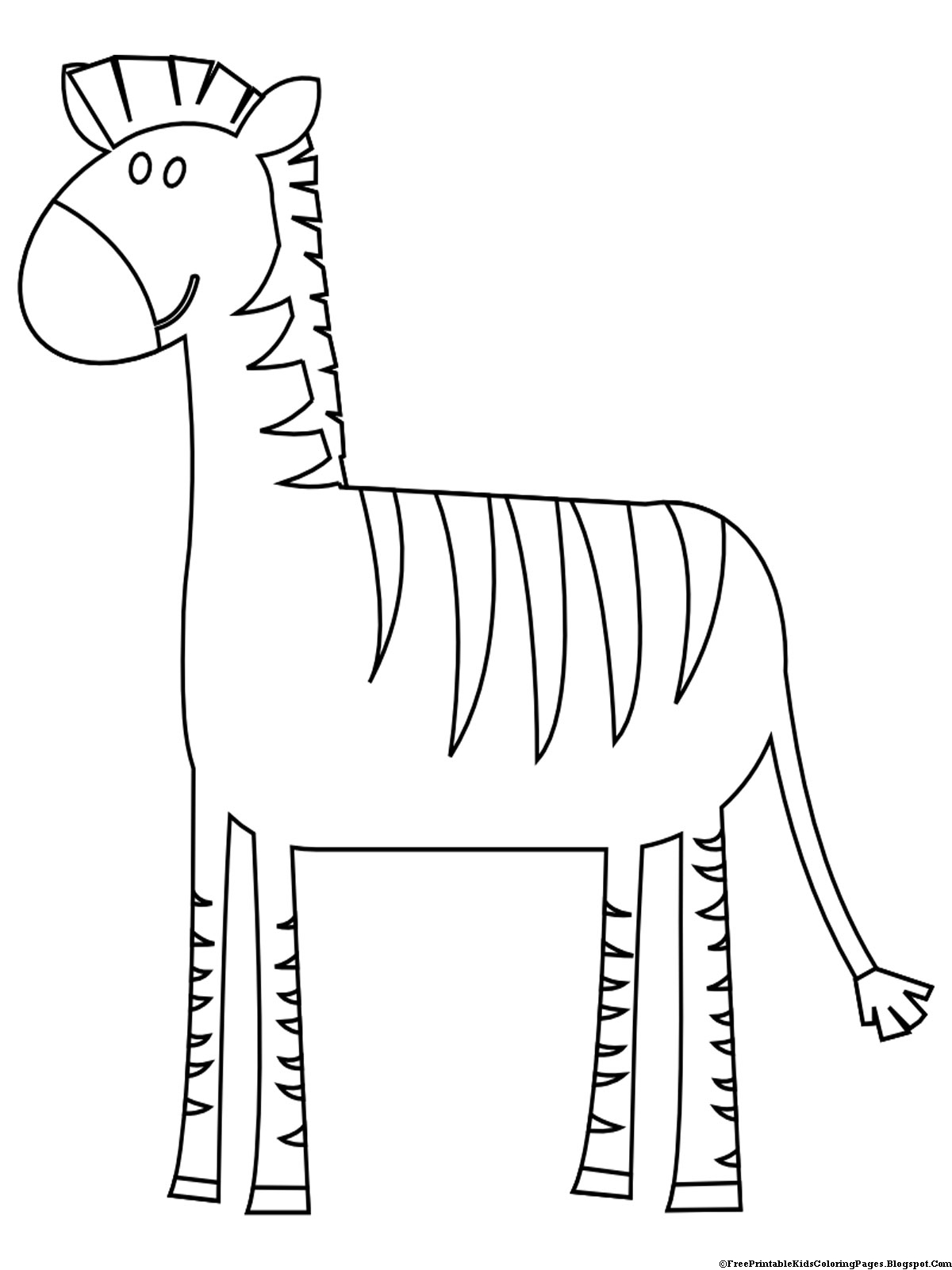zebra colouring pages to print printable zebra preschool coloring page for kidsfree zebra print pages to colouring