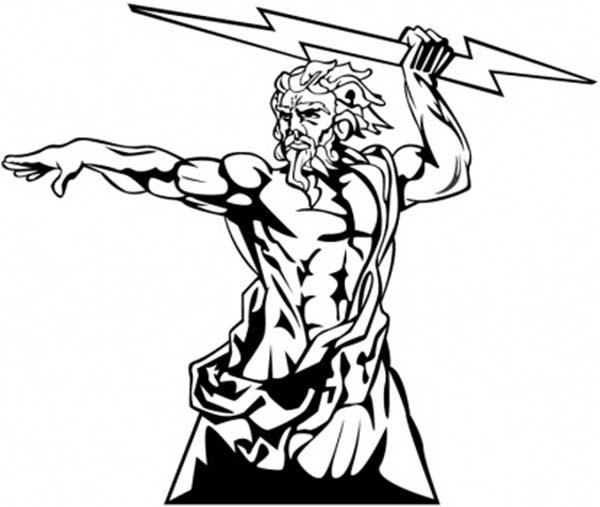 zeus drawing library of svg freeuse zeus angry png files clipart art 2019 drawing zeus